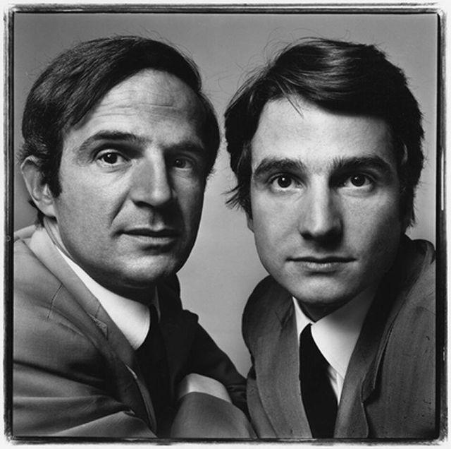 François Truffaut et Jean Pierre Léaud 1971