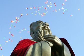 Confucius lors des cérémonies de son 2558e anniversaire en septembre 20117