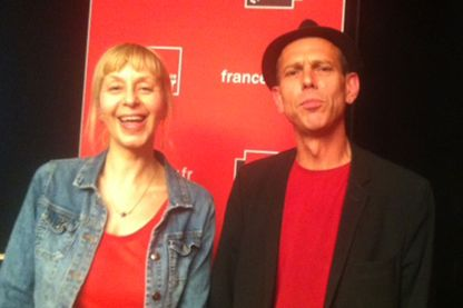 Lola Lafon et Christian Olivier