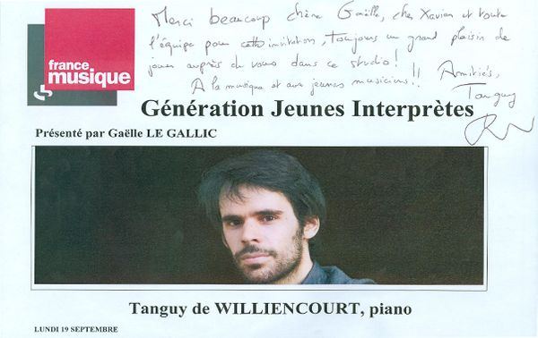 Tanguy de Willencourt - carte de visite