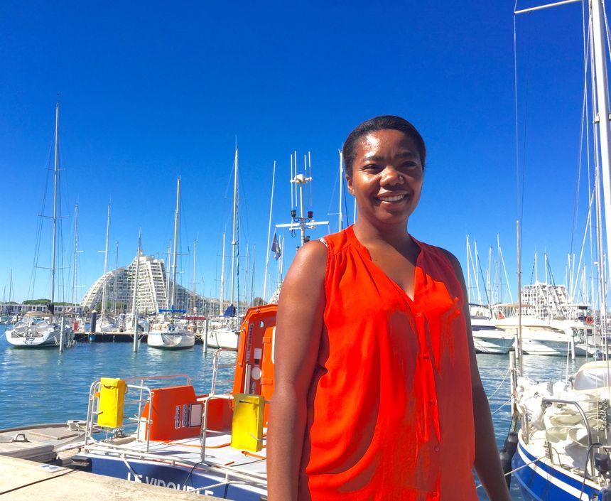 Catherine Chonville est adjointe au directeur du port de la Grande Motte