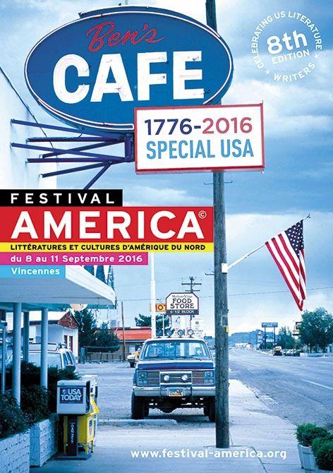 Affiche du 8ème Festival America de Vincennes