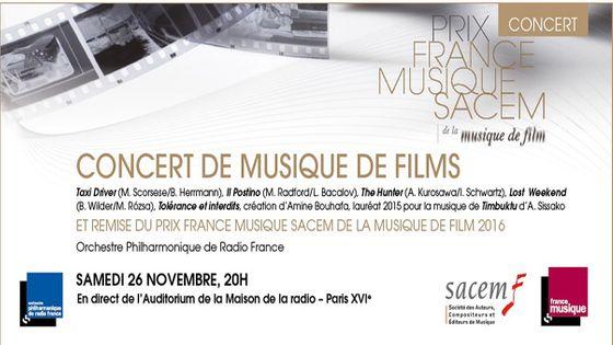 Prix France Musique Sacem 2016