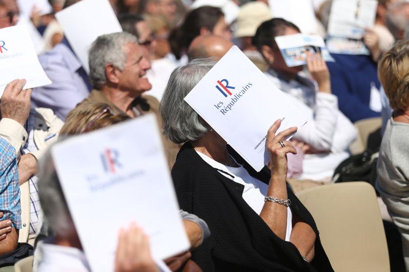 """Des militants """"Les Républicains"""" réunis à La Baule pour l'université d'été de leur mouvement"""