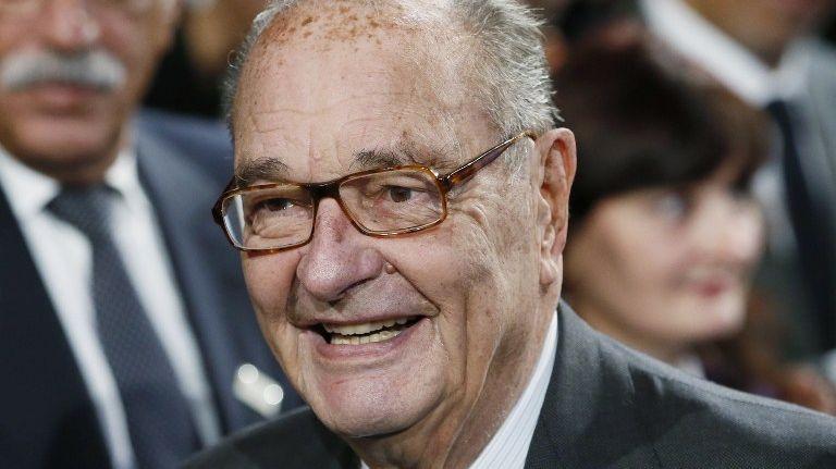 Jacques Chirac en 2014