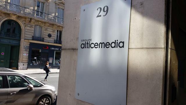 Altice Média, entrée actuelle du siège