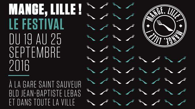 Détail affiche Mange, Lille !