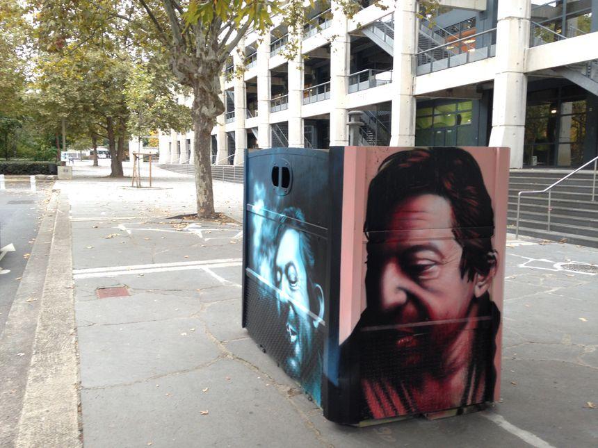 Le conteneur de Iggy sera installé rue Serge-Gainsbourg à Clermont-Ferrand.