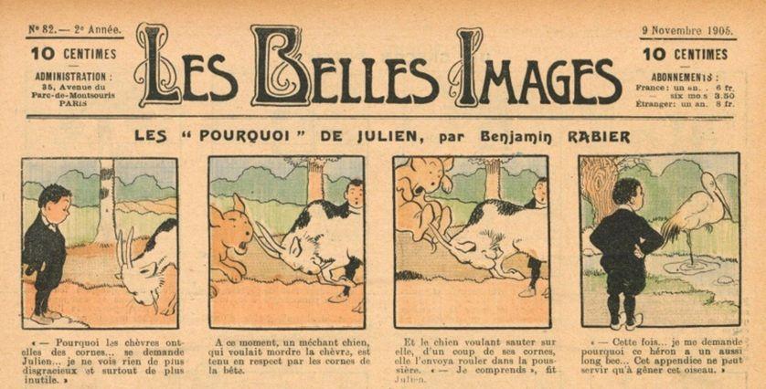 Les Belles Images, novembre 1905