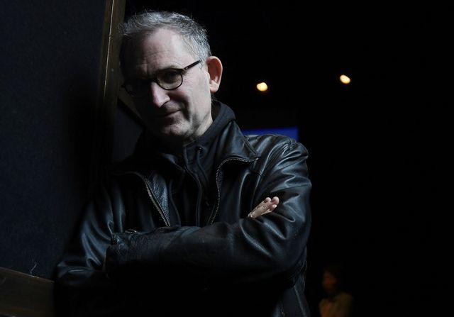"""Le chorégraphe français Jean-Claude Gallotta après une conférence de presse pour """"Volver"""" le 19 septembre 2016"""