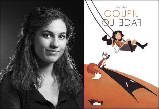 """Lou Lubie, auteur de la bande dessinée """"Goupil ou face"""" (éditions Vraoum !)•"""