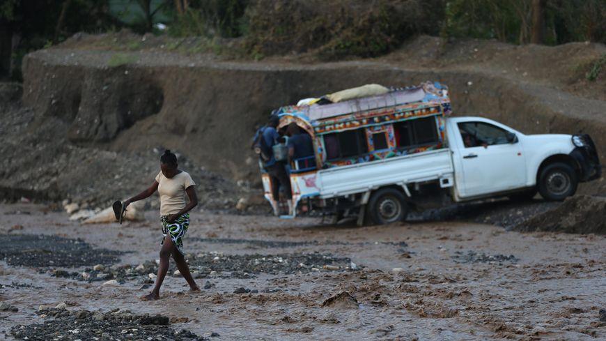 Haïti l'île la plus pauvre des Caraïbes une nouvelle fois touchée par une catastrophe naturelle
