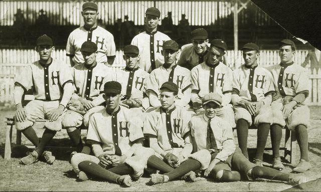 L'équipe de La Havane en 1914