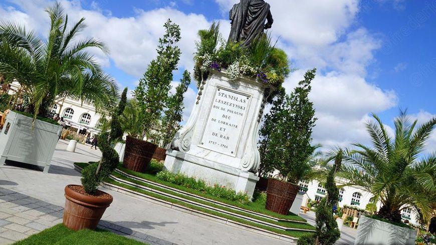Place Stanislas, les jardins éphémères
