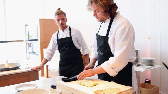 Paolo Pettenuzzo et Magnus Nilsson lors d'un atelier en France