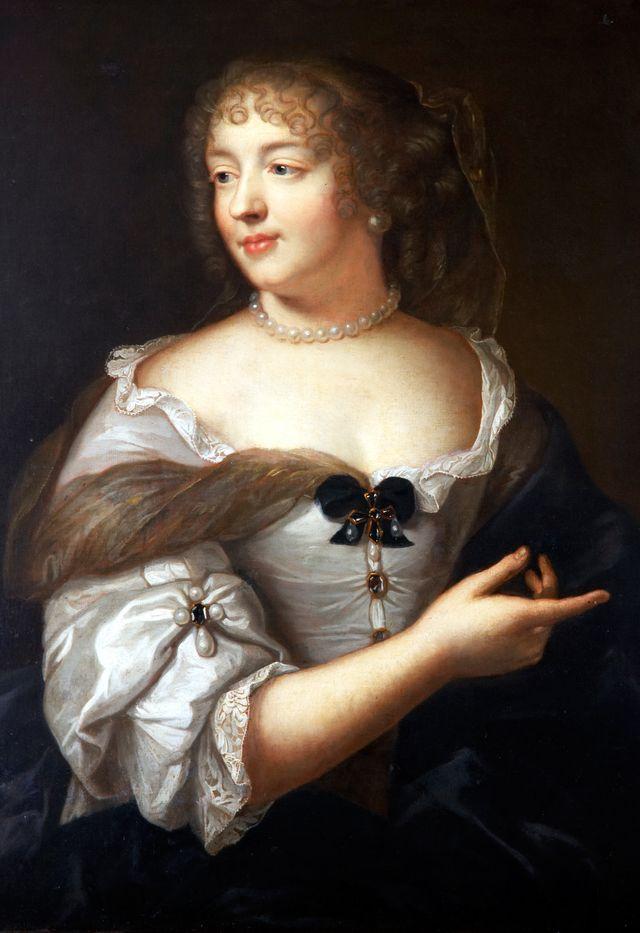 Madame de Sevigne par Claude Lefèbvre, l'un des tableaux du Carnavalet