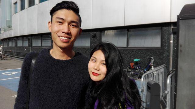 Yipeng et son amie