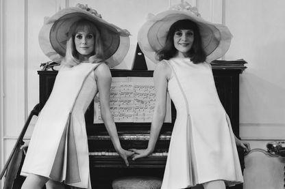 Catherine Deneuve et Françoise Dorleac dans Les Demoiselles de Rochefort