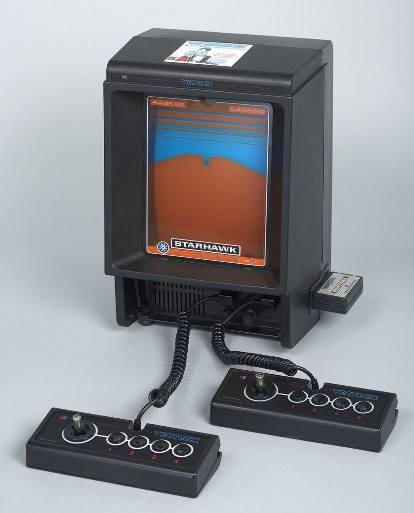 La console de jeu Vectrex.