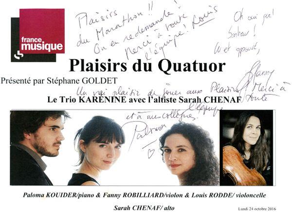 PDQ-Trio Karenine-Sarah Chenaf