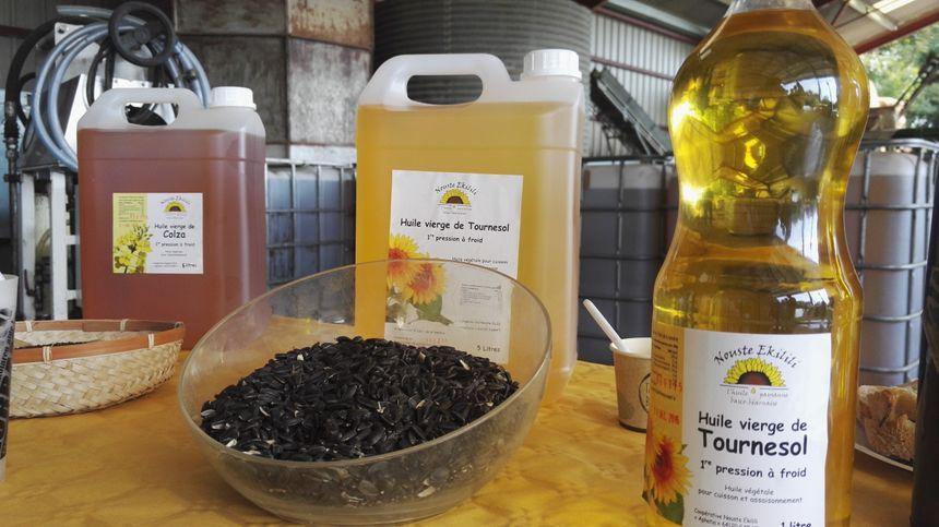 Des huiles pour les restaurants et les particuliers.