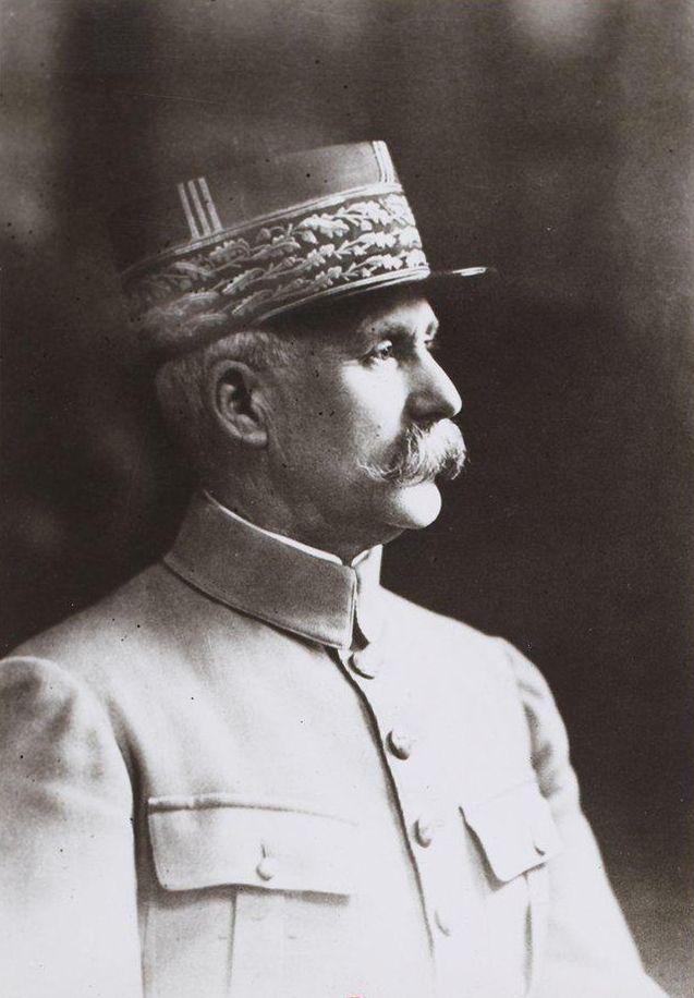 """Portrait du maréchal Pétain issu du recueil """"Portraits de Philippe Pétain"""""""