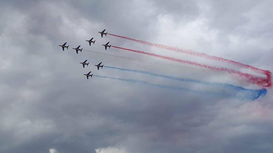 La der de la Patrouille de France 2016.