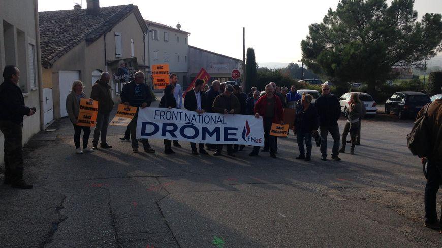 La manifestation a commencé vers 10h30 ce samedi.