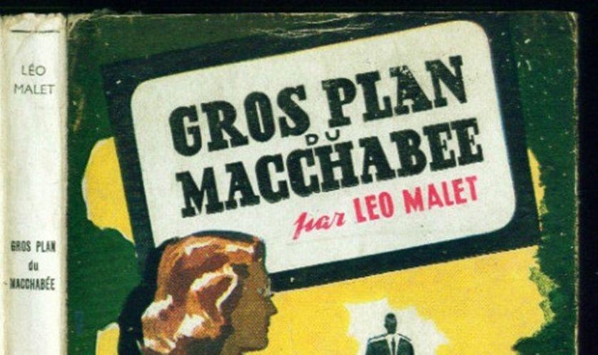 Gros plan sur le mort de Léo Malet, couverture du livre