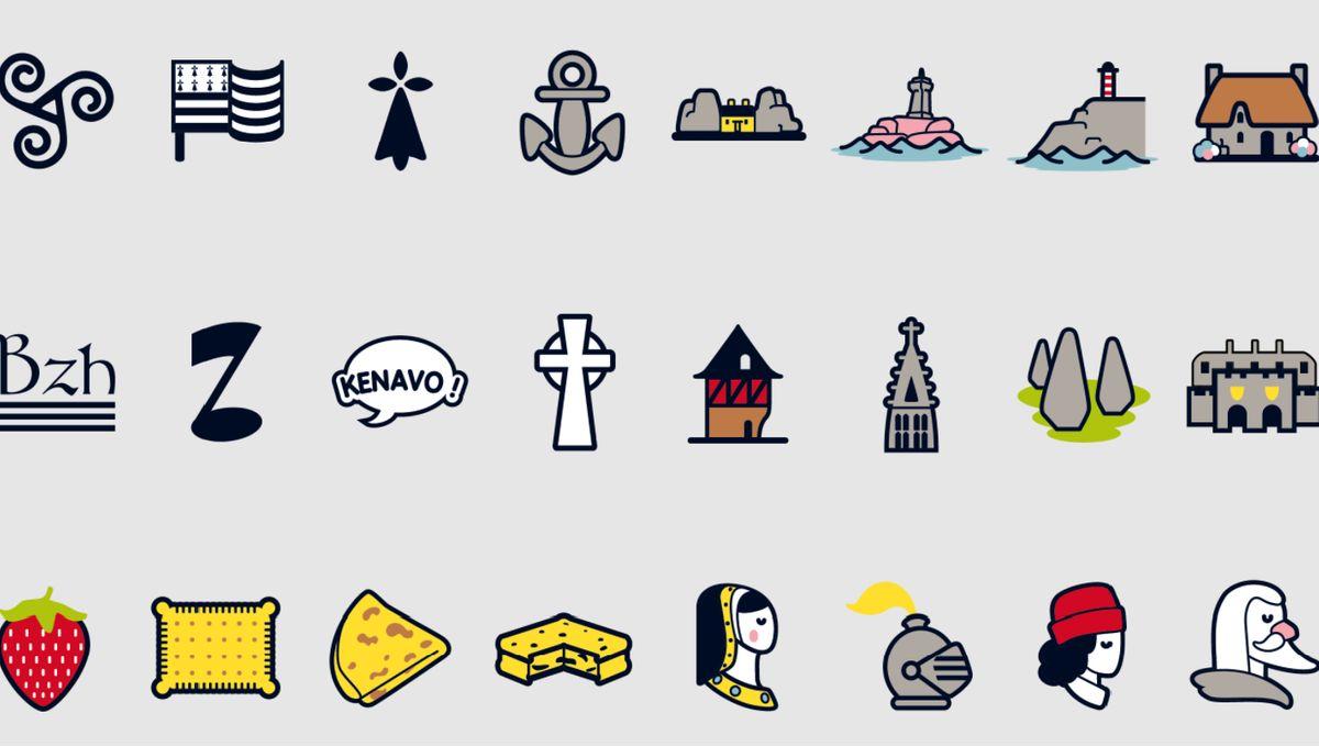 Des Emoticones 100 Breizh Pour Votre Smartphone