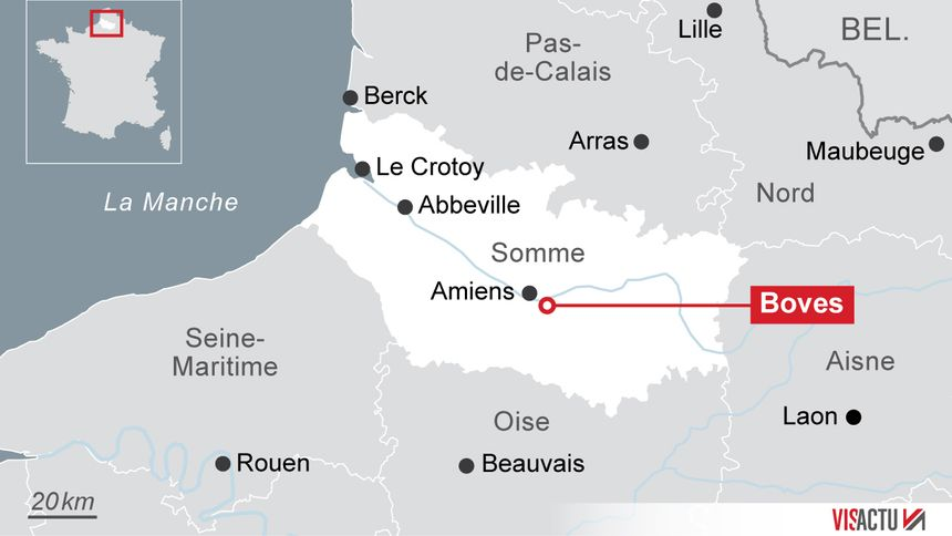 Amazon s'installe dans la zac de Boves, près d'Amiens.