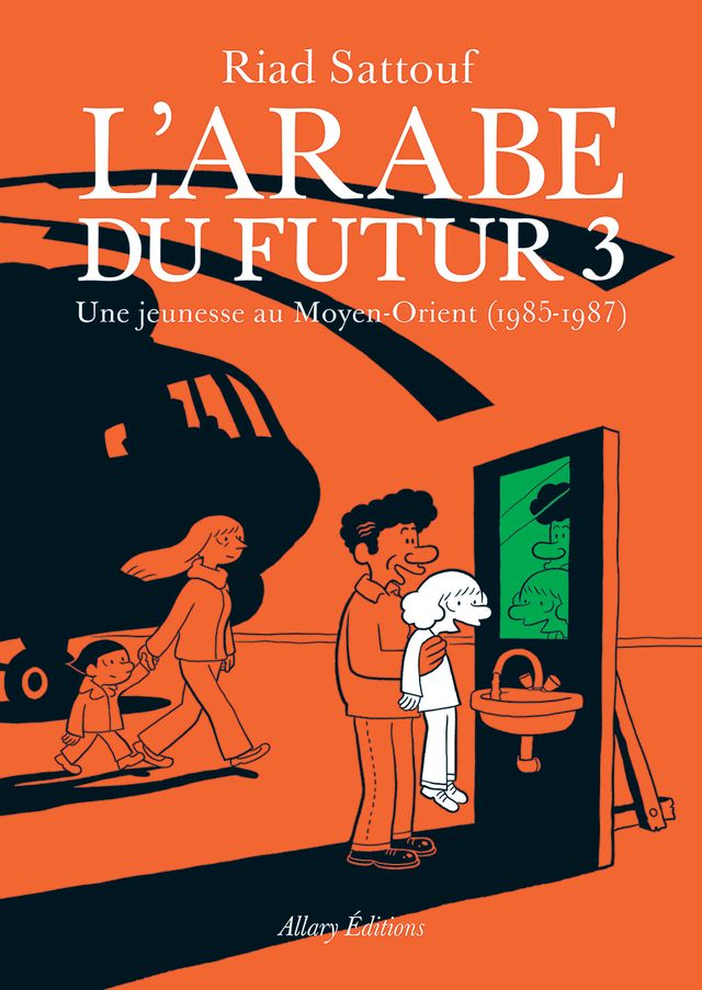 Couverture de L'Arabe du futur 3