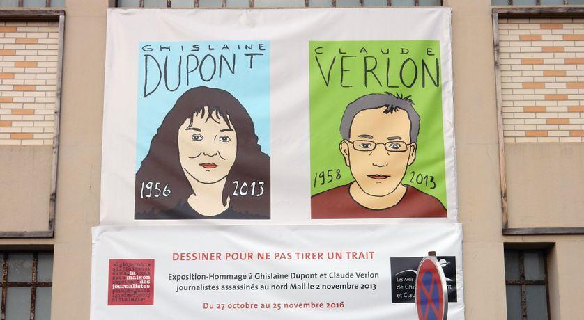 La journaliste Ghislaine Dupont et le technicien Claude Verlon assassinés, au Mali, le 2 novembre 2013