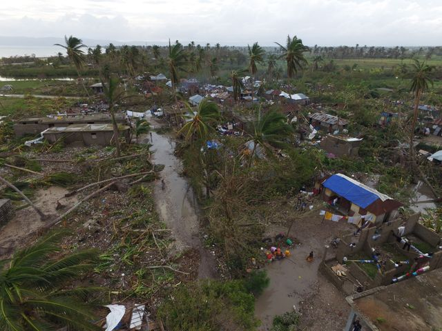 Paysages de désolation en Haïti