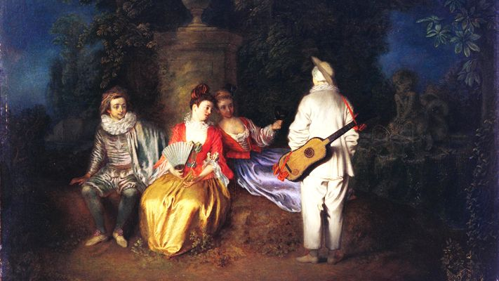La Partie carrée (1713)