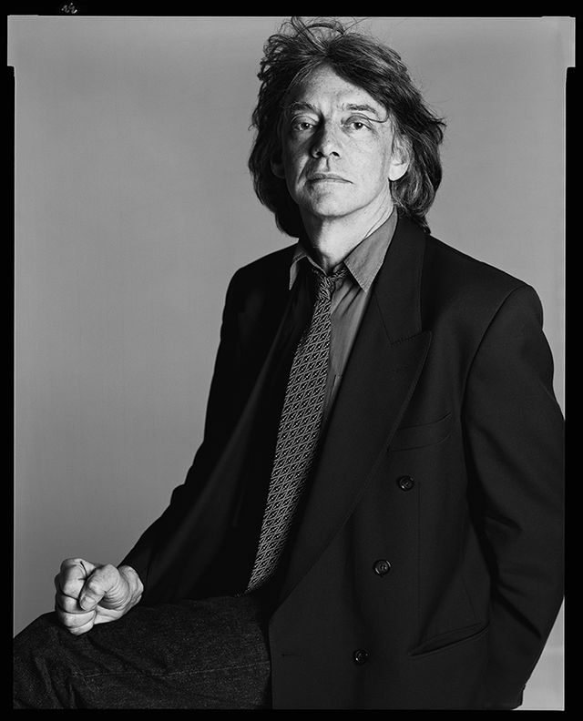 Andre Glucksmann, philosopher, New York, April 19, 1992 - Photograph by Richard Avedon