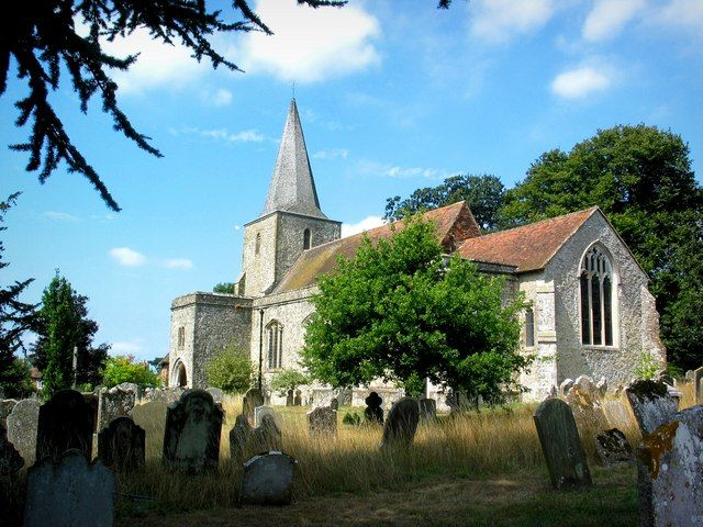 L'église de Pluckley
