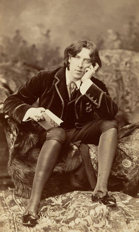Oscar Wilde par Napoléon Sarony, 1882.