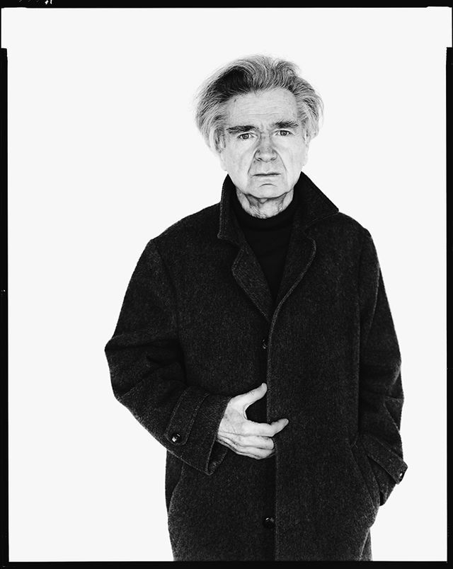 E.M. Cioran, writer, Paris, May 11, 1986 - Photograph by Richard Avedon