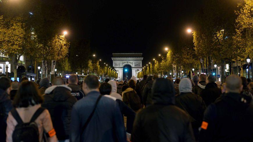 Les policiers manifestent depuis plusieurs jours dans les rues de Paris - Illustration