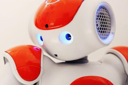 Nao, le robot humanoïde présenté à la the RoboCup Junior en 2014