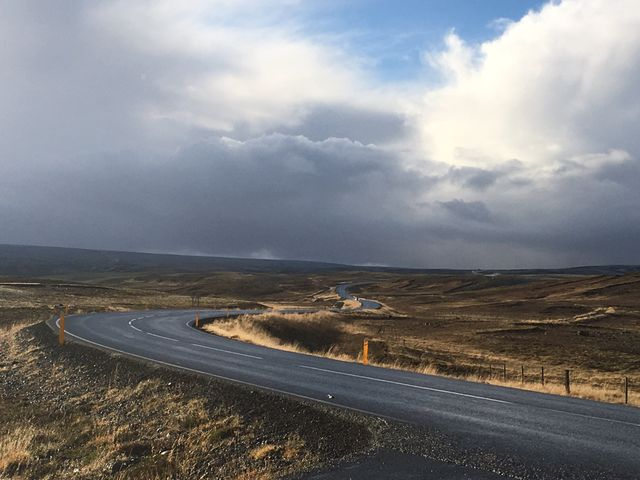 sur la route de Reykjavik