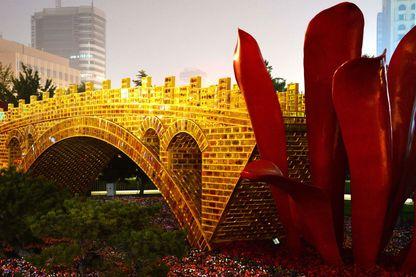 Le pont en or de la Route de la soie, Pékin 2016