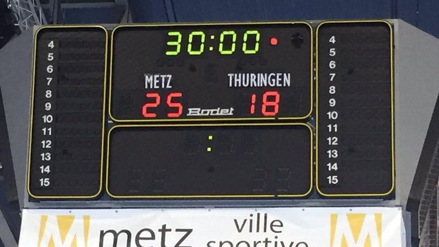 Une victoire sans appel pour le Metz Handball contre les Allemandes de Thüringer