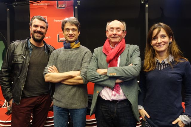 Cyril Lacarrière, Bruno Patino, Dominique Wolton et Alice Antheaume
