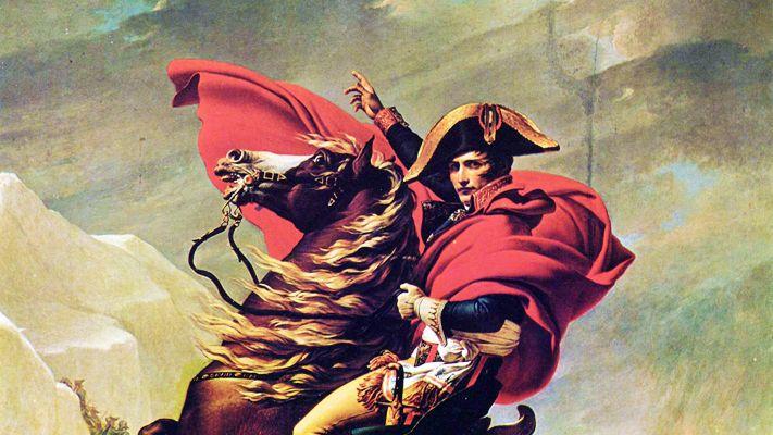 Napoléon par Jacques-Louis David, 1800