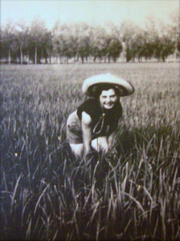 "Photo d'une ""Mondina"""