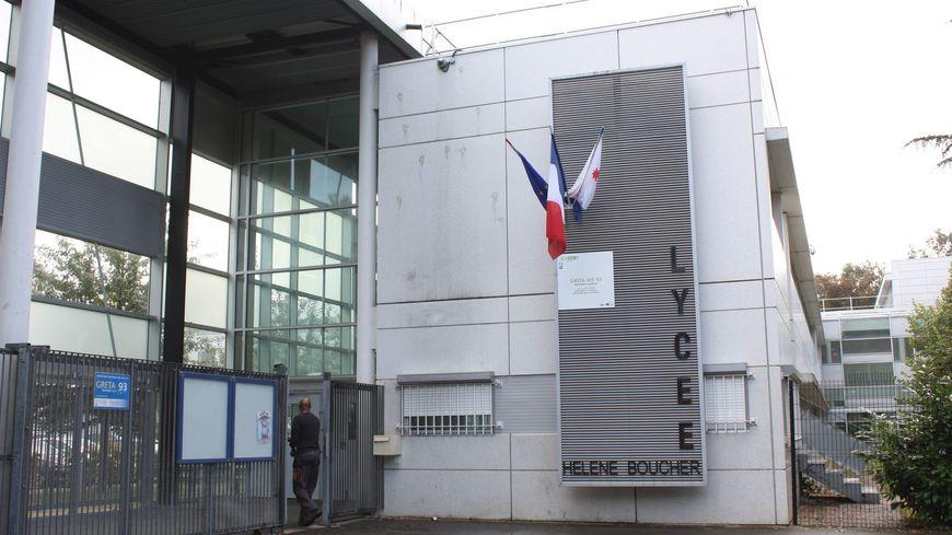 Le lycée Hélène Boucher de Tremblay-en-France (Seine-Saint-Denis)