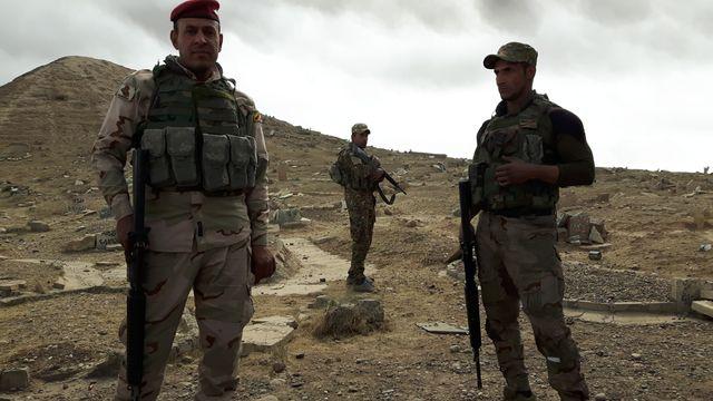 Les forces régulières irakiennes