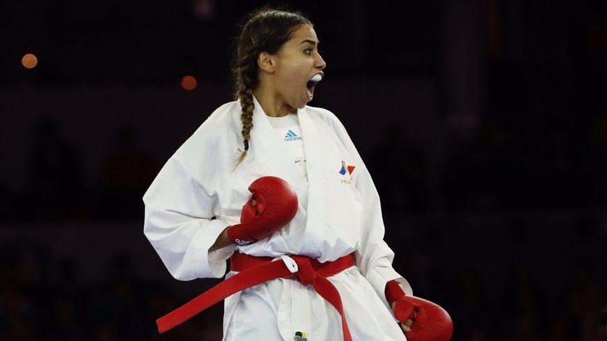 Le point rageur d'Emily Thouvy après sa victoire en finale des championnats du monde de kararé?